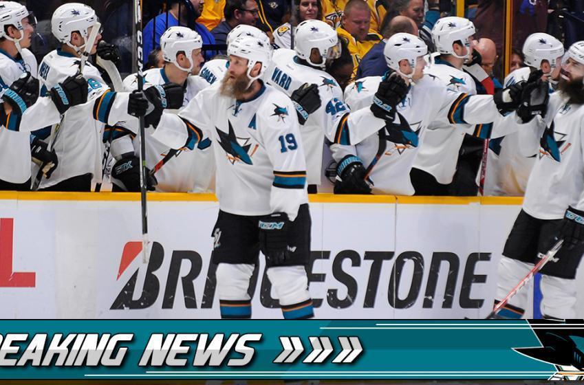 Breaking: Sharks make first offseason signing