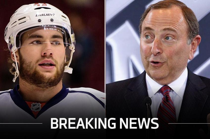 Breaking: Tom Wilson reacts to Bettman's judgement!