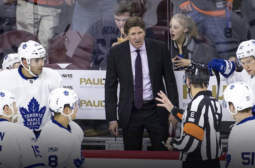 Former NHLer RIPS Leafs' Babcock on social media