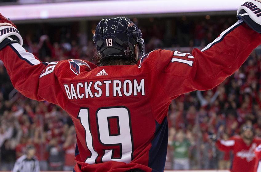 Caps' Backstrom reaches  historic milestone