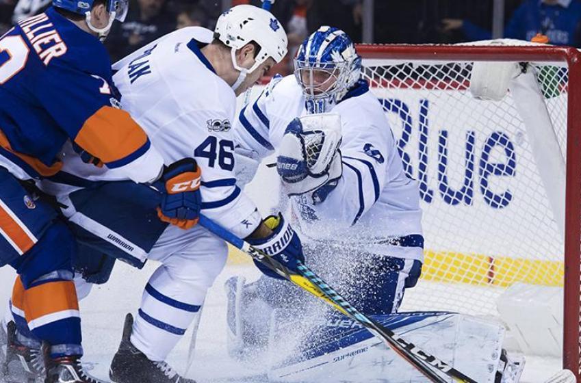 Rookie appears to win spot on Leafs blueline