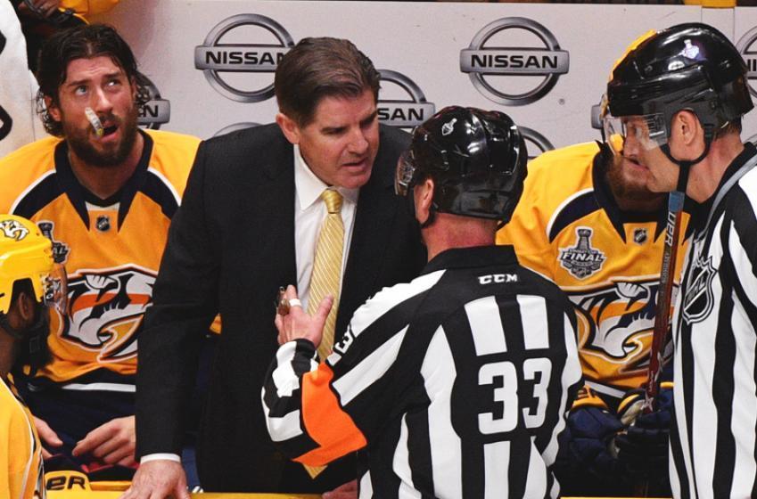 Breaking: Former Predators forward leaves his team for the KHL.