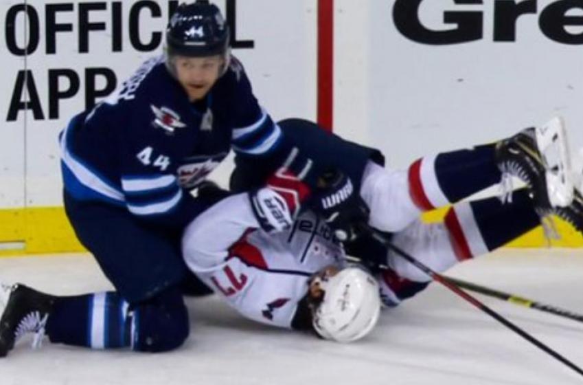 NHL could suspend Morrissey for brutal takedown on Oshie!