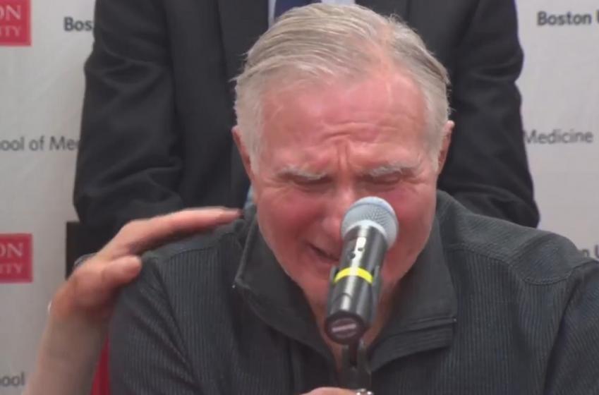 Hall-of-Famer breaks down as he makes heartbreaking announcement.