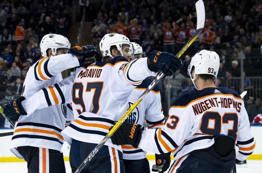 The Oilers seek to keep the streak going against struggling Red Wings