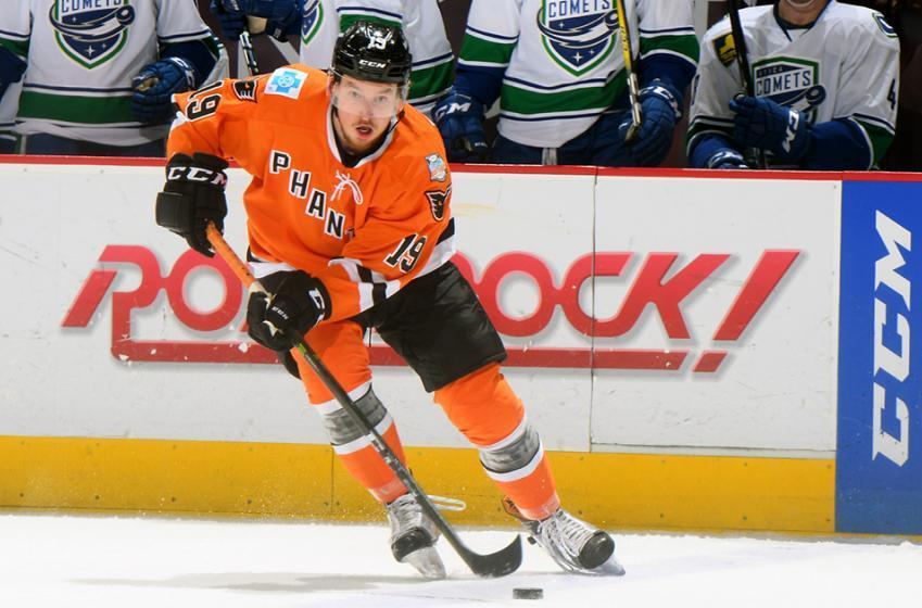 Breaking: Flyers cut prospect Fazleev loose