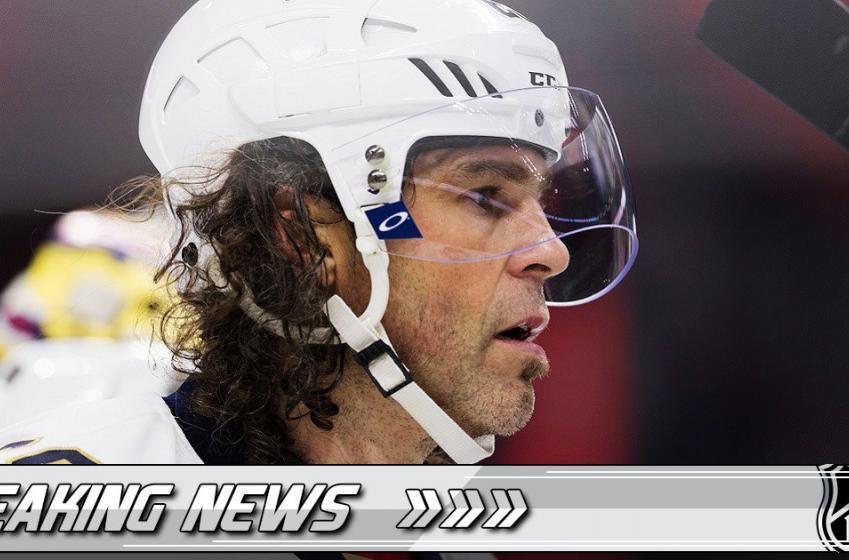 Breaking: GM confirms he is in talks with Jaromir Jagr.