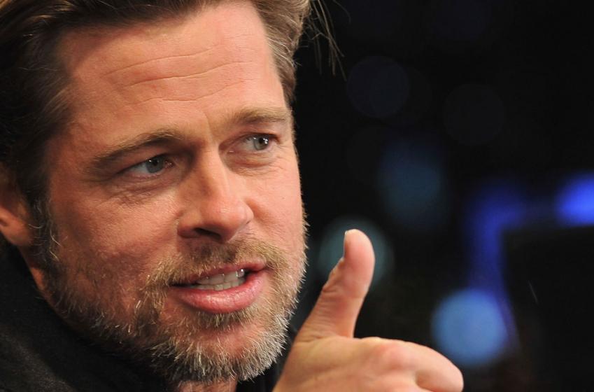 Must see: Brad Pitt's hot new girlfriend is a huge hockey fan!