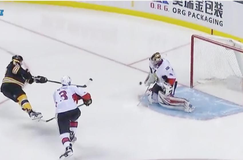 WATCH: Krug's gorgeous power-play goal
