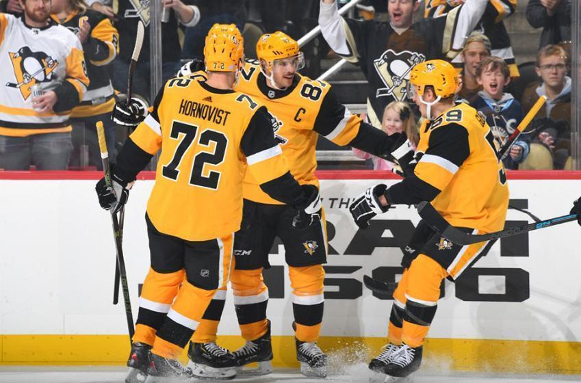 Crosby electrifies in return, helps Pens snap losing skid