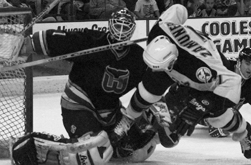 Respected veteran Sean Burke is back in the NHL.