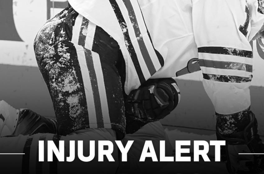 UPDATE: Injured Player Details