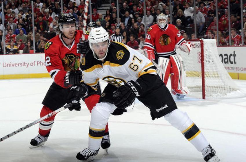 Bruins Captain Has a Message for Blackhawks