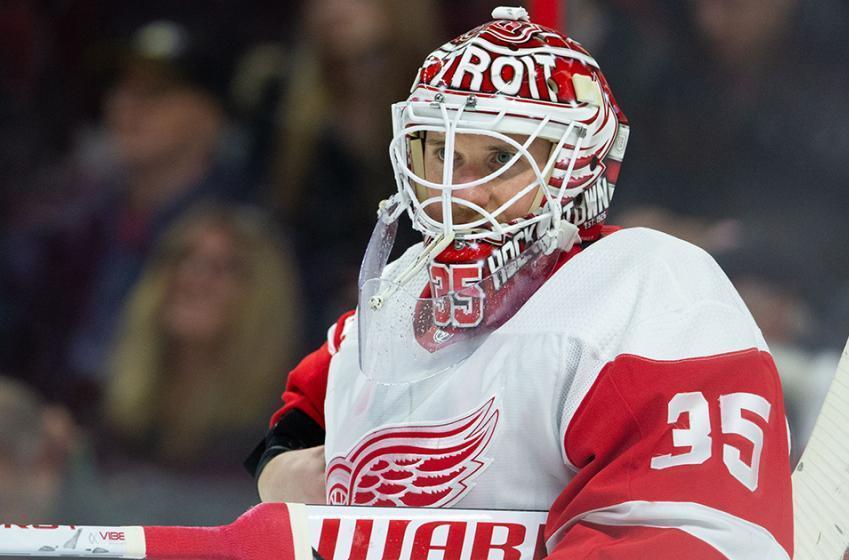 Wings goalie Howard addresses trade rumors