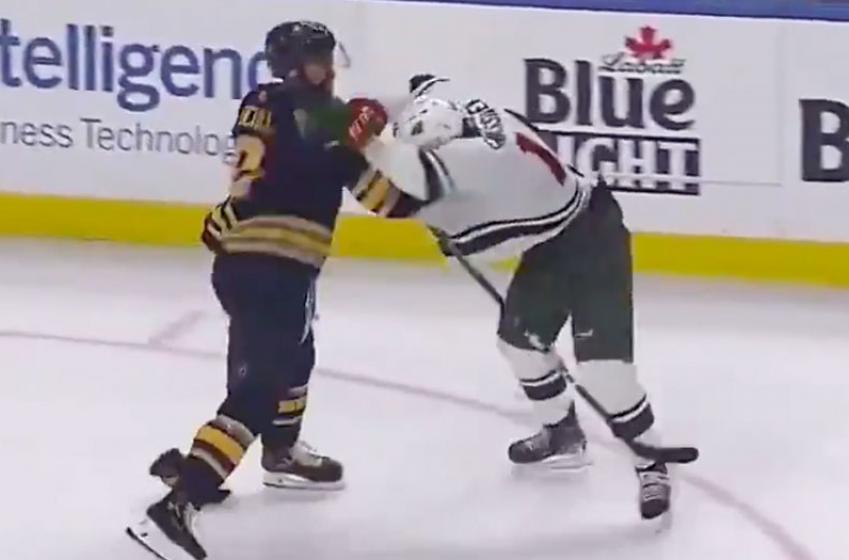 Jack Eichel snaps and attacks Eriksson Ek!