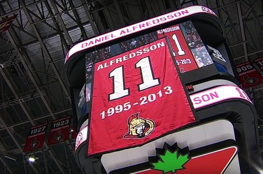Daniel Alfredsson is now immortal!