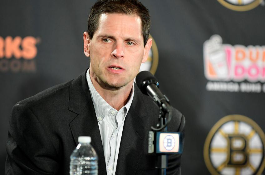 Bruins general manager breaks silence on crazy Pastrnak trade rumors.
