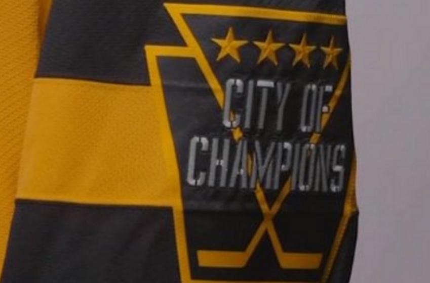 Pittsburgh Penguins unveil their Stadium Series jersey.