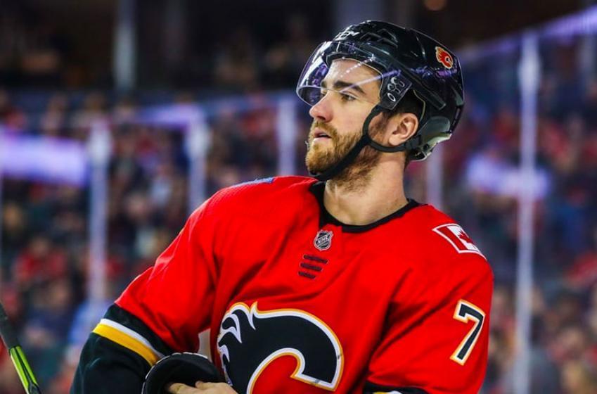 Flames release update on T.J. Brodie