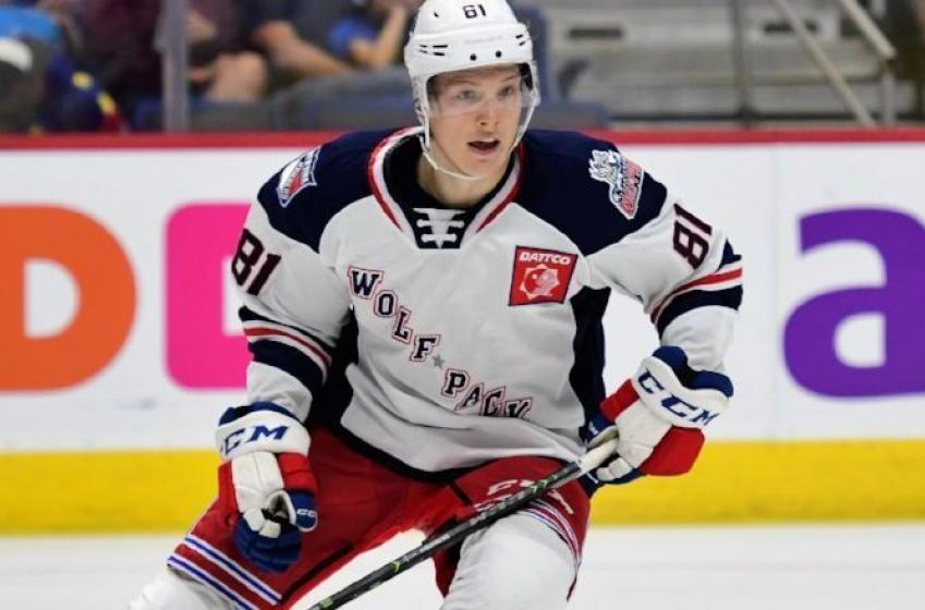 Ville Meskanen is leaving the Rangers' organization