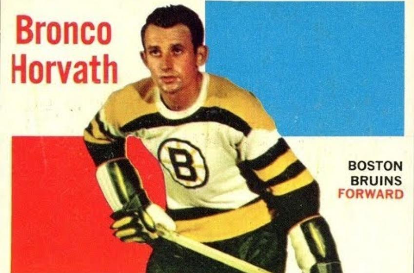 Bruins' legend Bronco Horvath passes away