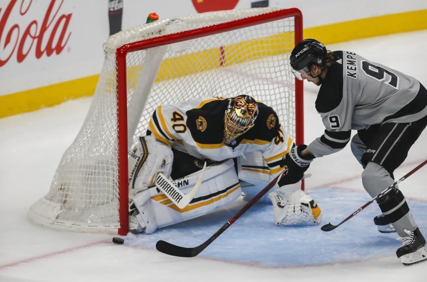 Bruins hope to start a new win streak tonight against Kings