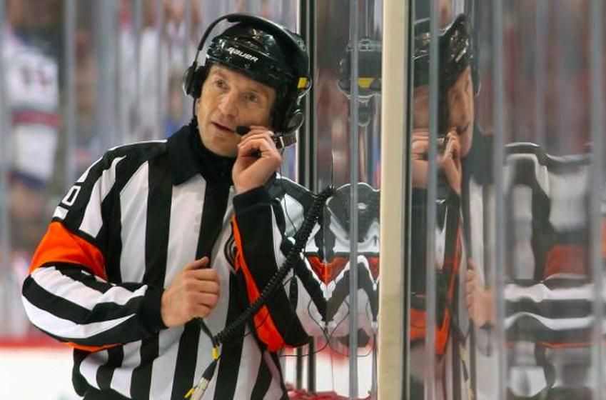 Report: Controversial NHL referee Tim Peel announces retirement plans