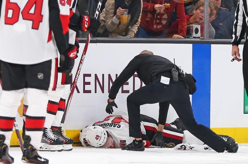 Scott Sabourin set to return from his terrifying injury.