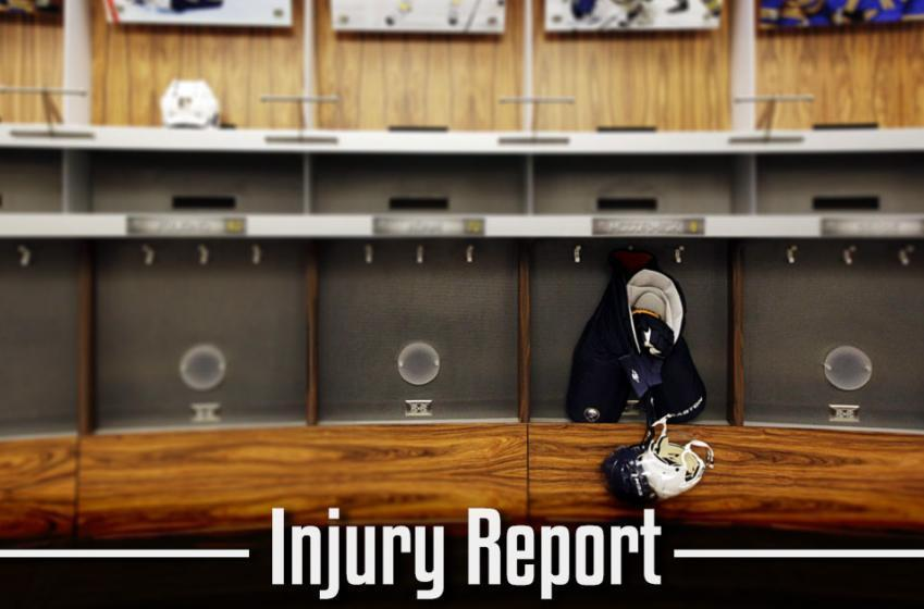 Injury Report: Top-defenseman will not play tonight...
