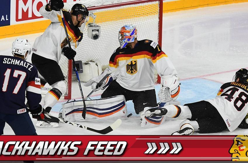 BREAKING: Hawks' Schmaltz making BIG impact with USA
