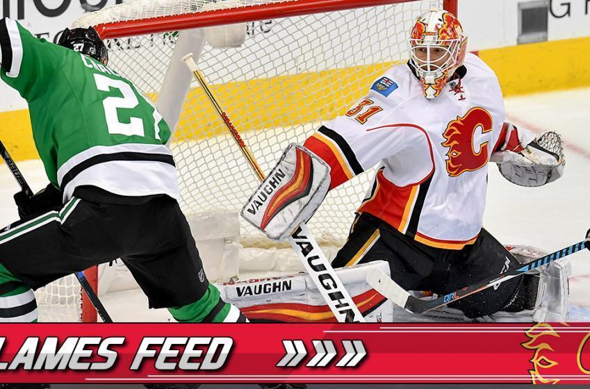 Report: Flames facing goaltending dilemma