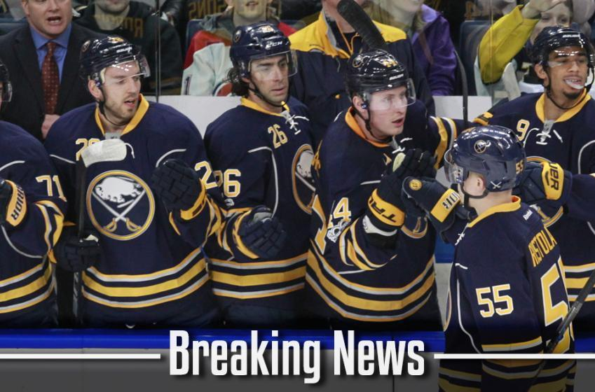BREAKING: Buffalo Sabres have signed forward to a two-year contract.