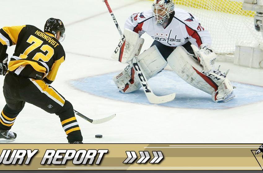 Injury Update: Sullivan encouraged by Hornqvist's progress