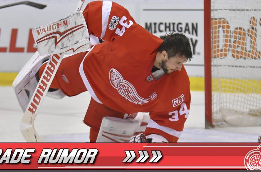 TRADE RUMOR: Insider reports MAJOR trade rumor regarding Wings goaltender.