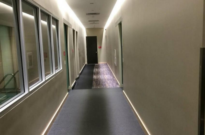 First look inside the brand new Las Vegas locker room.