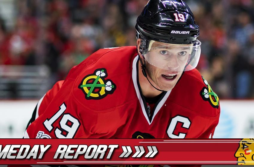 Gameday Report: Brand new face on Chicago's top line!