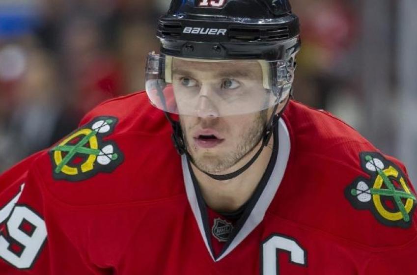 Breaking: The NHL has suspended Blackhawks captain Joanthan Toews.