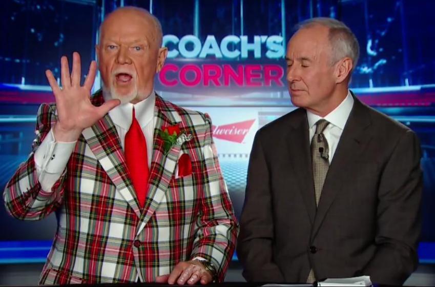 Don Cherry's comments on Sidney Crosby's slash rocks the hockey world.