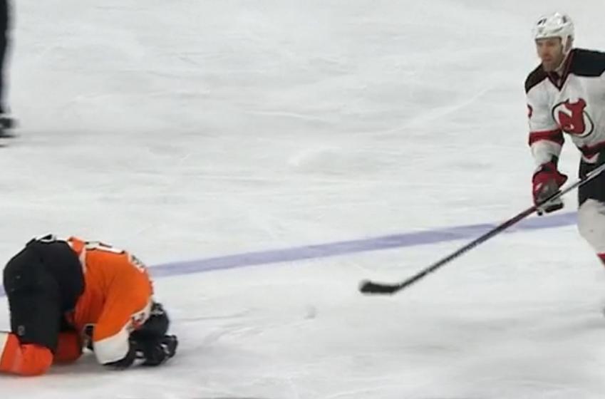 NHL suspends veteran defenseman for blatant cheap shot.