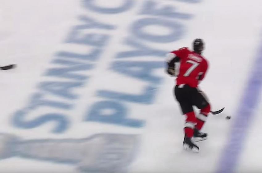 BREAKING : Controversy arises following game winning goal in Ottawa.