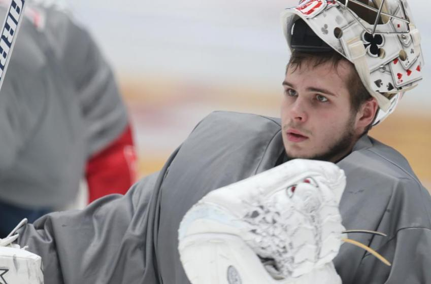 Fresh news about Rangers' goalie prospect burning the KHL.