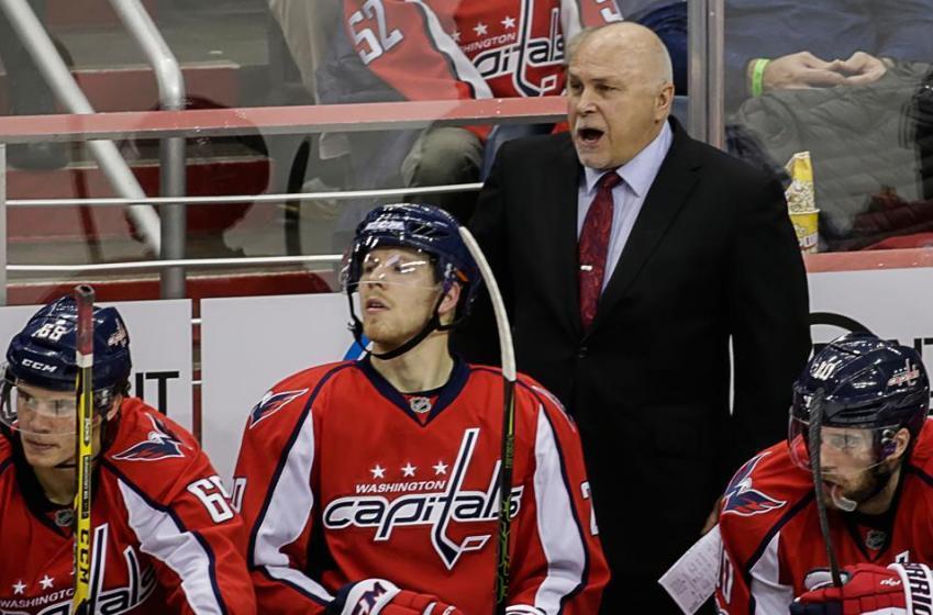 Capitals coach humble heading into Toronto