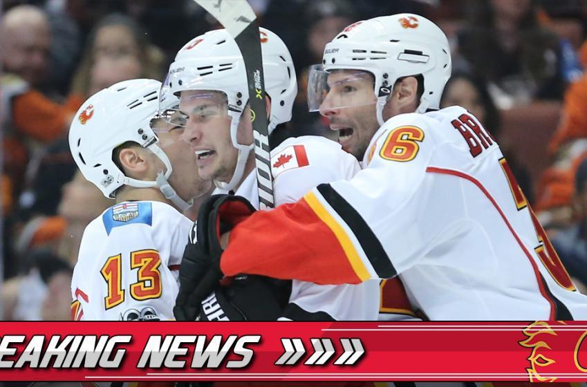BREAKING: The Calgary Flames will present a different lineup tonight!