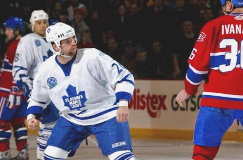 Former Maple Leafs enforcer has a major career change