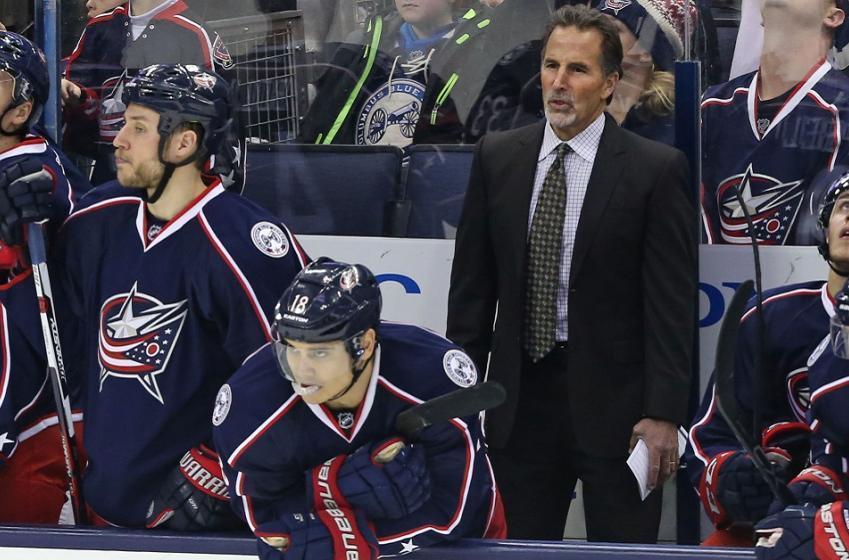 NHL officials left shaking their heads at John Tortorella's behavior today.