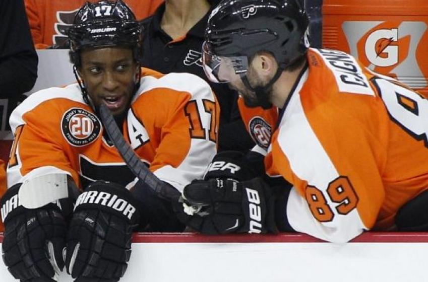 Flyers, Simmonds, dodge a potential bullet.