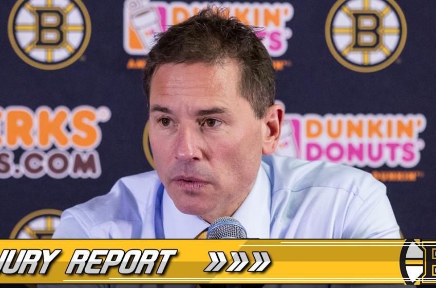 INJURY UPDATE: Bruins defenseman back on the ice