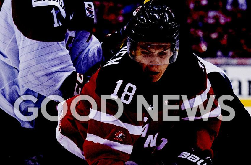 Finally something positive for Jake Virtanen!