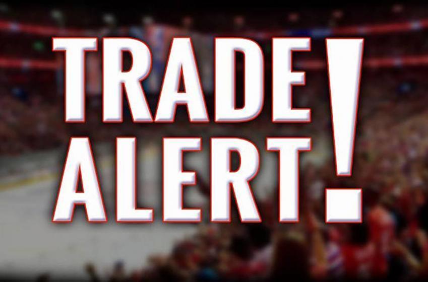 Breaking: Veteran defenseman has been traded.