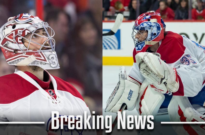 BREAKING: Goaltender injured at practice this morning won't start tonight.